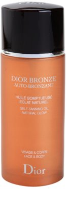 Dior Dior Bronze Auto-Bronzant Selbstbräuneröl Für Gesicht und Körper