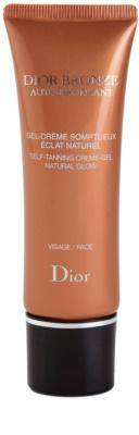 Dior Dior Bronze Auto-Bronzant samoopalovací gelový krém na obličej