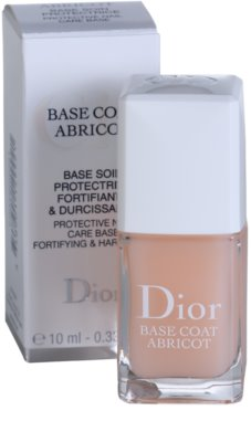 Dior Base Coat Abricot podlaga za lak 1