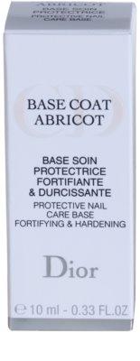 Dior Base Coat Abricot podlaga za lak 3