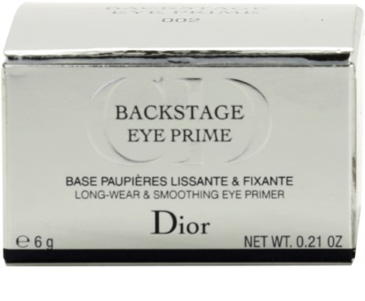 Dior Backstage sminkalap a szemhéjfesték alá 4