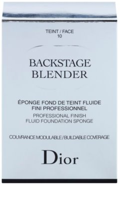 Dior Backstage Make up Schwämmchen 2