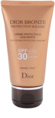 Dior Dior Bronze Protection Solaire opalovací krém na obličej SPF 30
