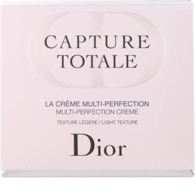 Dior Capture Totale leichte verjüngende Creme für Gesicht und Hals 2