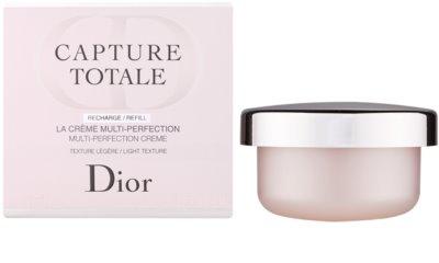 Dior Capture Totale leichte verjüngende Creme für Gesicht und Hals Ersatzfüllung 1