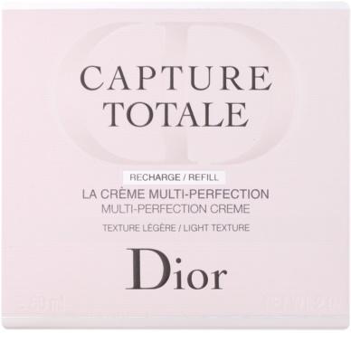 Dior Capture Totale leichte verjüngende Creme für Gesicht und Hals Ersatzfüllung 2