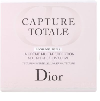 Dior Capture Totale fiatalító krém arcra és nyakra. utántöltő 2