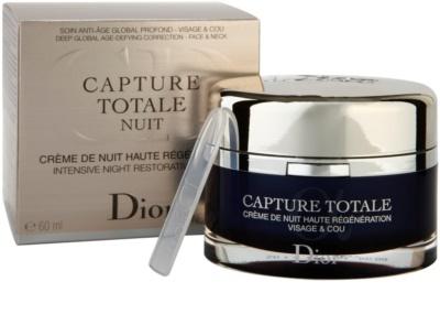 Dior Capture Totale Crema de noapte intensiva pentru revitalizarea pielii 2