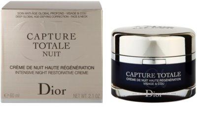 Dior Capture Totale Crema de noapte intensiva pentru revitalizarea pielii 3