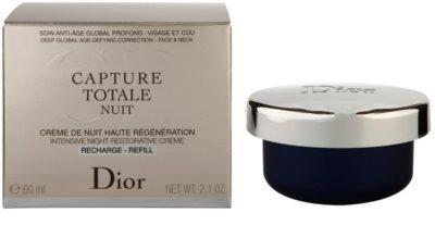 Dior Capture Totale intenzivna nočna krema za revitalizacijo kože nadomestno polnilo 3