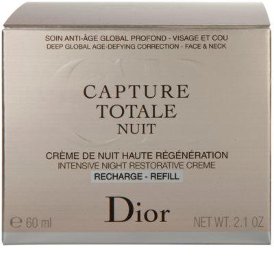 Dior Capture Totale intenzivna nočna krema za revitalizacijo kože nadomestno polnilo 4