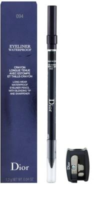 Dior Eyeliner Waterproof Eyeliner mit einem Anspitzer 2