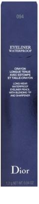 Dior Eyeliner Waterproof Eyeliner mit einem Anspitzer 3