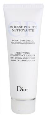 Dior Cleansers & Toners очищуючий пінистий гель для нормальної та змішаної шкіри