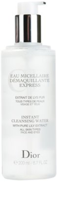 Dior Cleansers & Toners apa de fata cu particule micele pentru toate tipurile de ten 1