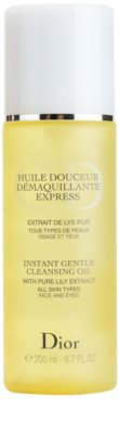 Dior Cleansers & Toners aceite desmaquillante para todo tipo de pieles