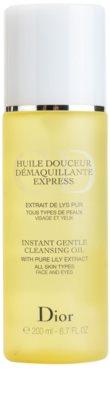 Dior Cleansers & Toners olje za odstranjevanje ličil za vse tipe kože