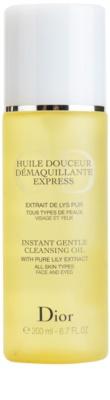 Dior Cleansers & Toners олио за премахване на грим за всички типове кожа на лицето