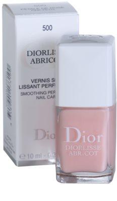 Dior Diorlisse Abricot stärkender Nagellack 1