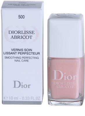 Dior Diorlisse Abricot stärkender Nagellack 2