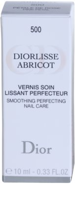 Dior Diorlisse Abricot stärkender Nagellack 3