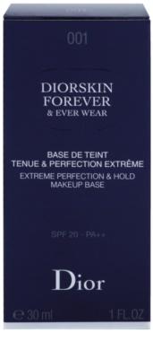 Dior Diorskin Forever & Ever Wear primer para base 2