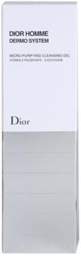 Dior Dior Homme Dermo System gel de limpeza 3