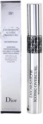Dior Diorshow Iconic Overcurl řasenka pro objem a natočení řas voděodolná 2