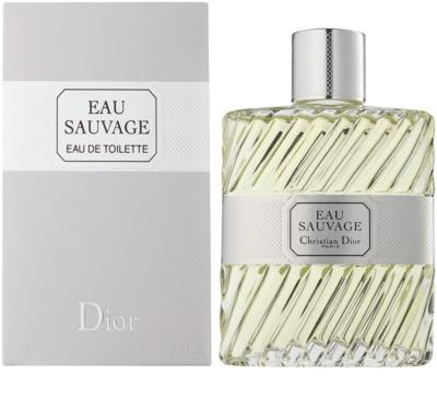 Dior Eau Sauvage toaletní voda pro muže  bez rozprašovače