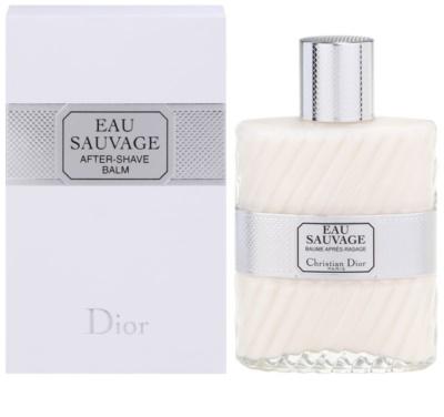 Dior Eau Sauvage bálsamo após barbear para homens