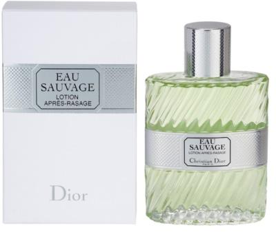 Dior Eau Sauvage loción after shave para hombre