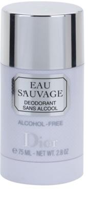 Dior Eau Sauvage desodorante en barra para hombre