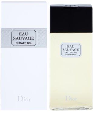 Dior Eau Sauvage gel de dus pentru barbati