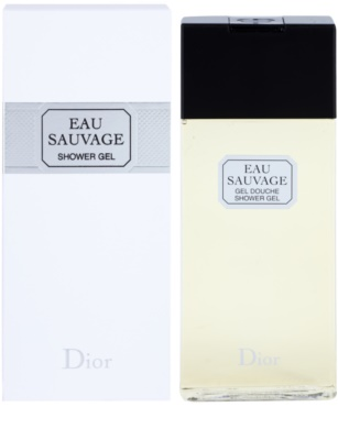 Dior Eau Sauvage sprchový gel pro muže