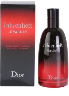 Dior Fahrenheit Fahrenheit Absolute (2009) toaletná voda pre mužov