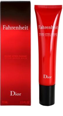 Dior Fahrenheit bálsamo após barbear para homens