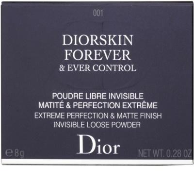 Dior Diorskin Forever & Ever Control matující sypký pudr 3