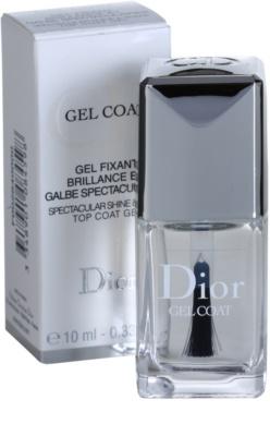 Dior Gel Coat esmalte de uñas para dar brillo 1