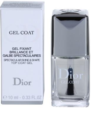 Dior Gel Coat esmalte de uñas para dar brillo 2