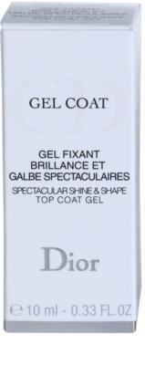 Dior Gel Coat esmalte de uñas para dar brillo 3