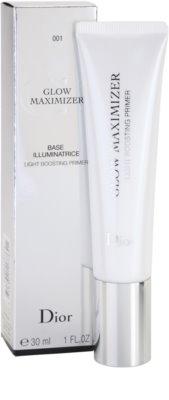 Dior Glow Maximizer base de maquilhagem para pele radiante 1