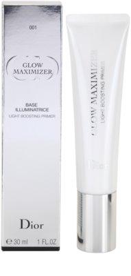 Dior Glow Maximizer prebase de maquillaje para iluminar la piel 2
