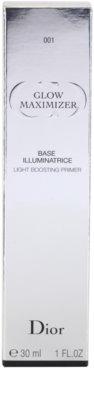 Dior Glow Maximizer prebase de maquillaje para iluminar la piel 3