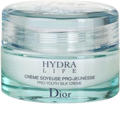 Dior Hydra Life зволожуючий крем для нормальної та сухої шкіри