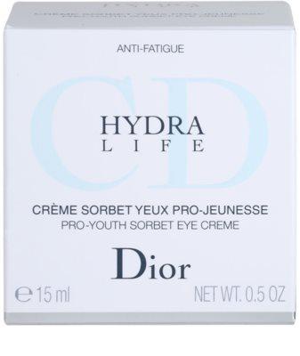 Dior Hydra Life creme de olhos hidratante 4