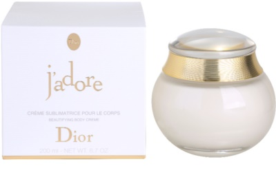 Dior J'adore testkrém nőknek