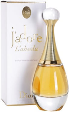 Dior J'adore L'absolu (2007) eau de parfum para mujer 1