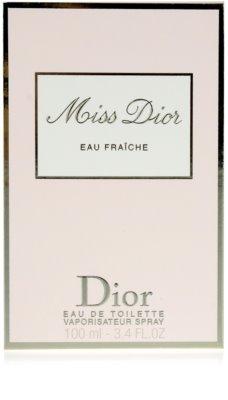 Dior Miss Dior Eau Fraiche (2012) toaletní voda pro ženy 4
