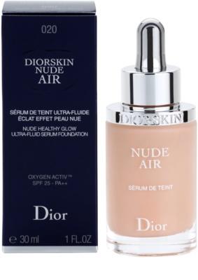 Dior Diorskin Nude Air тонуюча флюїдна сироватка тональна основа для макіяжу 1