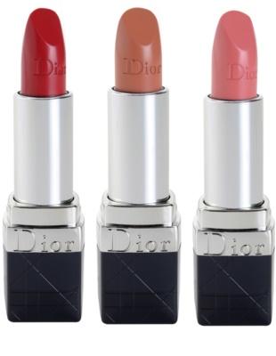 Dior Rouge Nude luxuriöser, pflegender Lippenstift